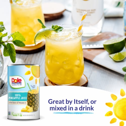 Dole 100% Pineapple Juice Perspective: right