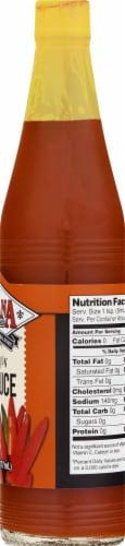 Louisiana Original Hot Sauce Perspective: right