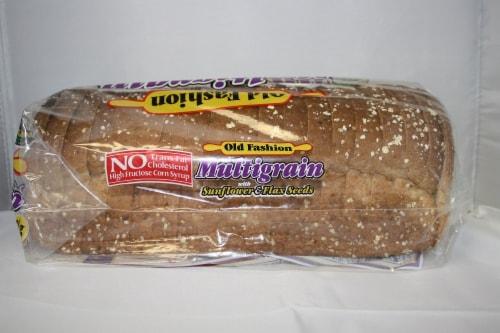 Old Fashion Multigrain Bread Perspective: right
