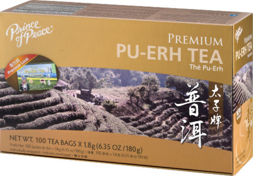 Prince of Peace Pu-erh Tea Perspective: right