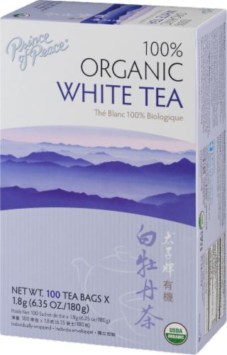 Prince of Peace Organic White Tea Perspective: right