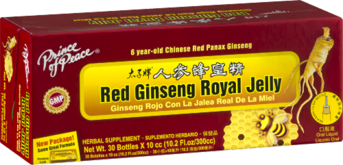 Prince of Peace Red Ginseng Royal Jelly Herbal Supplement Perspective: right