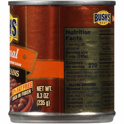Bush's Best Original Baked Beans Perspective: right