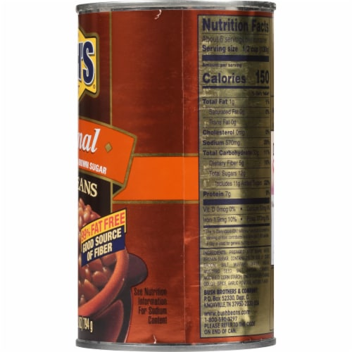 Bush's Best® Original Baked Beans Perspective: right