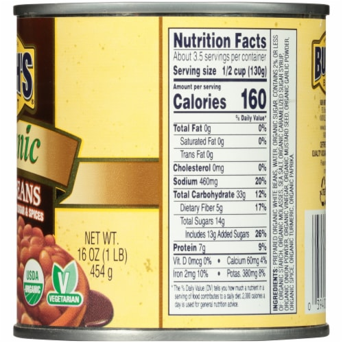 Mariano S Bush S Best Organic Baked Beans 16 Oz
