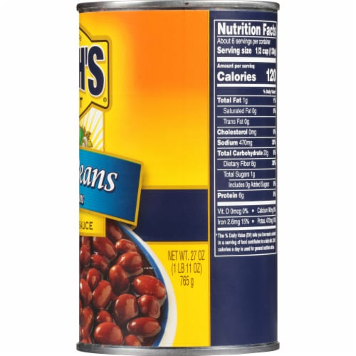 Mariano's - Bush's Best Red Chili Beans in Mild Sauce, 27 oz