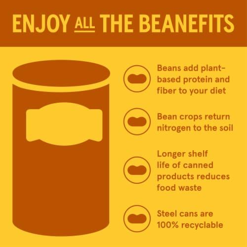 Bush's Organic Garbanzo Beans Perspective: right