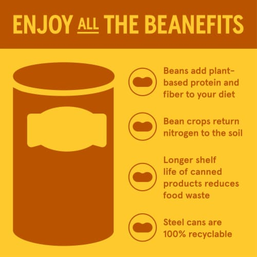 Bush's Best Brown Sugar Hickory Baked Beans Perspective: right