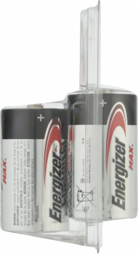 Energizer® Max® D Alkaline Batteries Perspective: right