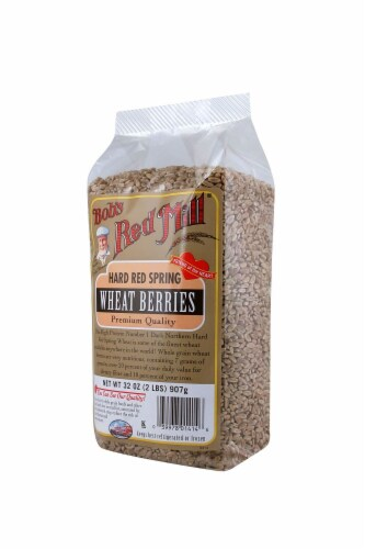 Bob's Red Mill Hard Red Wheat Berries Perspective: right