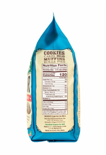 Bob's Red Mill Organic Unbleached White All-Purpose Flour Perspective: right