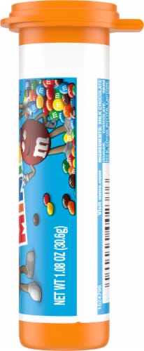 M&Ms Milk Chocolate Minis Tube Perspective: right