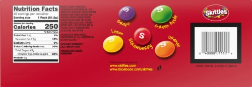 Skittles Original Fruity Candy Perspective: right