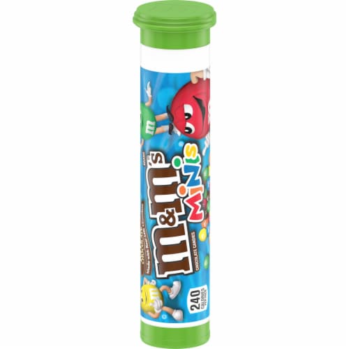M&M's Minis Milk Chocolate Candies Perspective: right