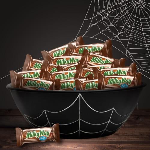 Milky Way® Caramel Milk Chocolate Fun Size Halloween Halloween Candy Big Bag Perspective: right