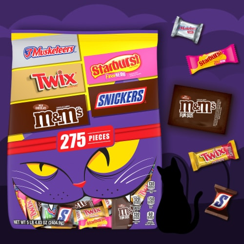 Mars Mixed Chocolate and Chewy Halloween Candy Variety Bag Perspective: right
