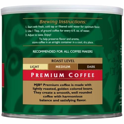 MJB Premium Ground Coffee Perspective: right
