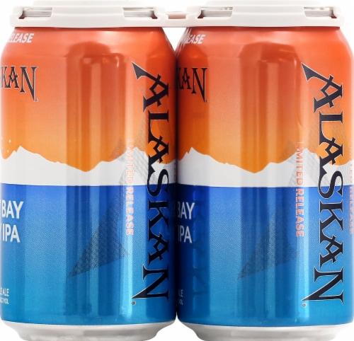Alaskan Brewing Co. Hazy Bay Juicy IPA Beer Perspective: right