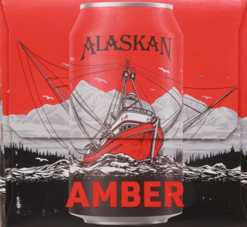 Alaskan Brewing Co. Amber Alt Style Ale Perspective: right