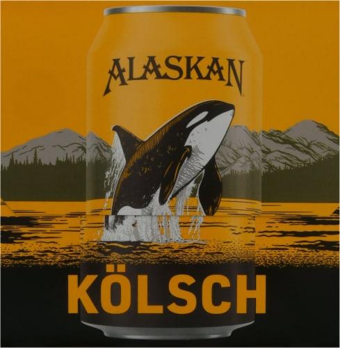 Alaskan Brewing Co. Kolsch Style Ale Perspective: right