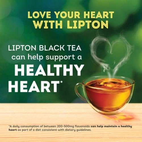 Lipton Black Tea Bags Perspective: right
