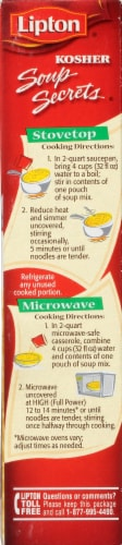 Lipton Soup Secrets Natural Chicken Flavor Noodle Soup Mix Perspective: right