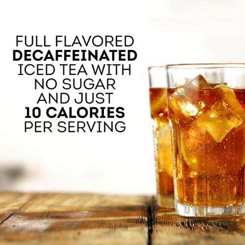 Lipton Lemon Decaffeinated Diet Iced Tea Mix Perspective: right