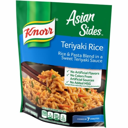 Knorr Asian Sides Teriyaki Rice and Pasta Blend Perspective: right