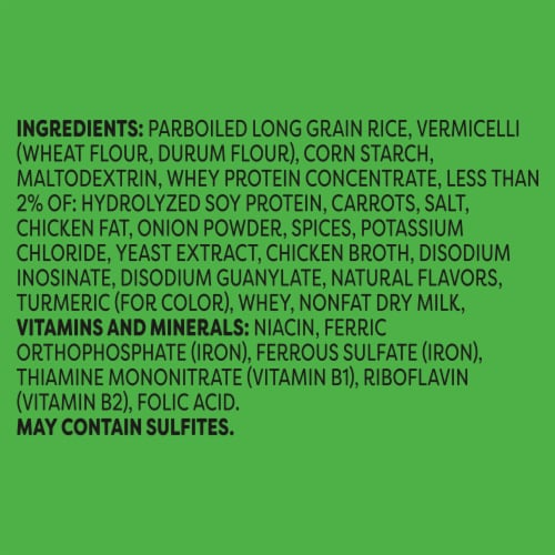 Knorr® Rice Sides Creamy Chicken Flavor Rice and Pasta Blend Perspective: right