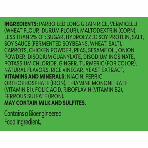 Knorr Asian Sides Chicken Fried Rice Perspective: right