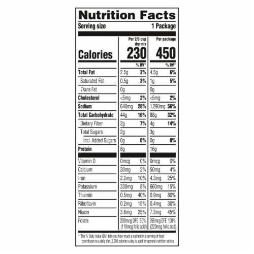 Knorr Pasta Sides Chicken & Broccoli Fettuccine Pasta Perspective: right