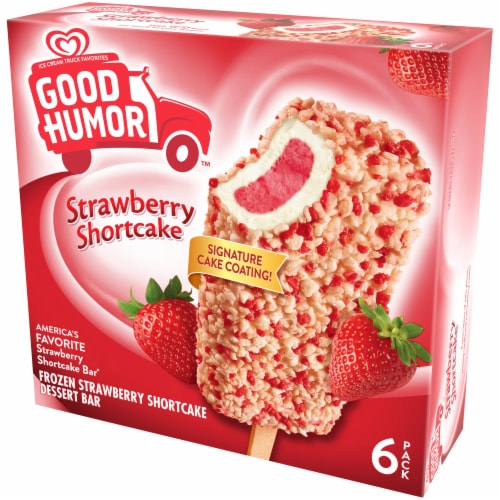Good Humor Strawberry Shortcake Dessert Bar Perspective: right