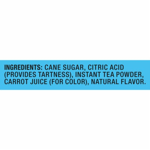 Lipton Raspberry Sweetened Iced Tea Mix Perspective: right