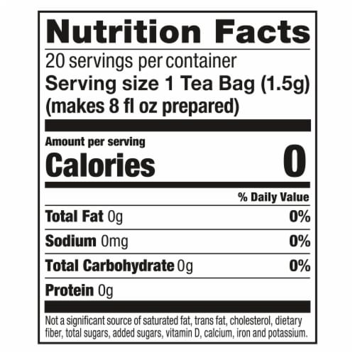 Lipton® Natural Green Tea with Mint Tea Bags Perspective: right