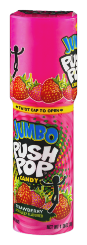 Push Pops Jumbo Lollipop Candy Perspective: right