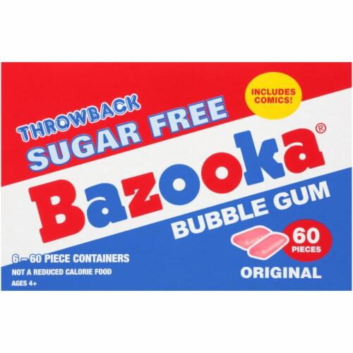 Bazooka Sugar Free Gum To Go Cup Perspective: right