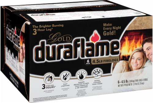 Duraflame Gold Firelogs - 6 Pack Perspective: right