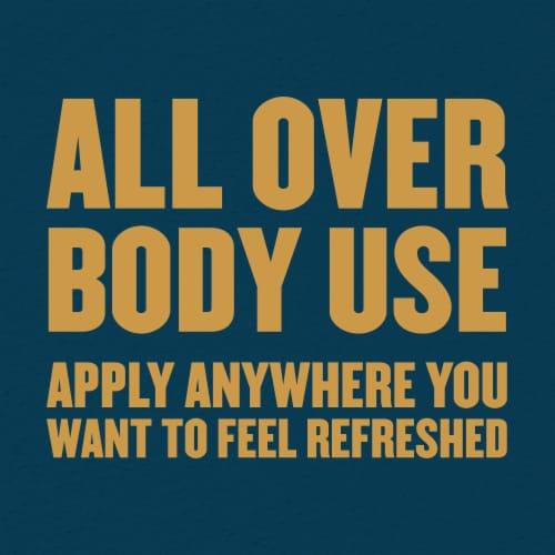 Gold Bond Ultimate Refresh 360 Scent Men's Essentials Body Powder Perspective: right