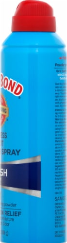 Gold Bond No Mess Foot Powder Spray Fresh Scent 2x Odor Absorbing Power Perspective: right