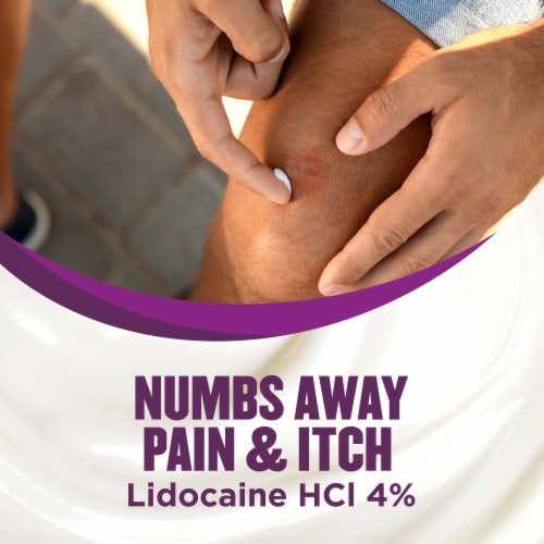 Gold Bond® Multi-Symptom Itch Relief With 4% Lidocaine Maximum Strenth Perspective: right
