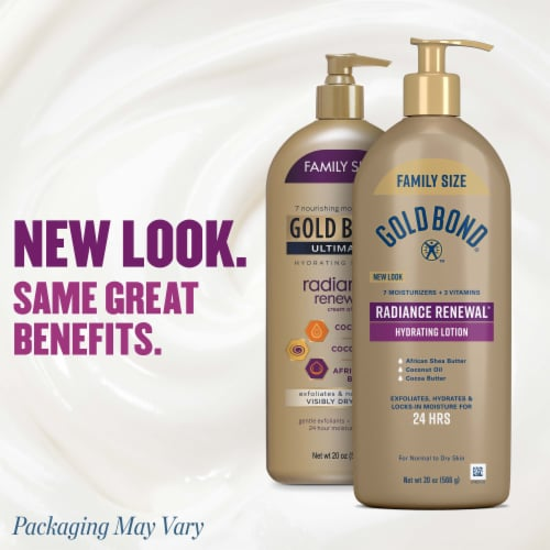 Gold Bond® Ultimate Radiance Renewal Cream Oil Perspective: right