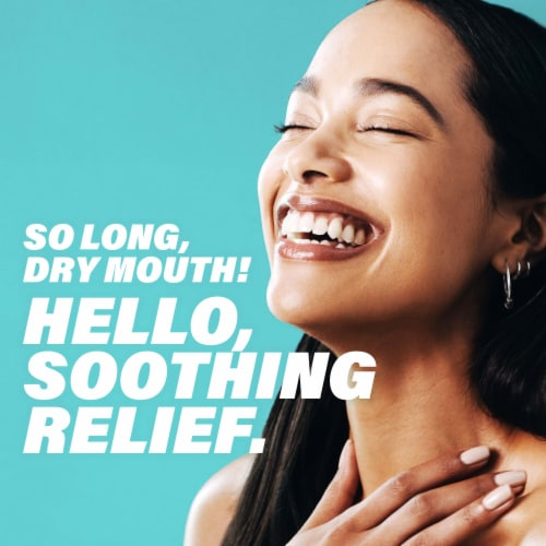ACT Soothing Mint Dry Mouth Lozenges with Xylitol Perspective: right
