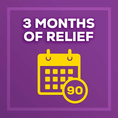 Allegra 24 Hour Indoor/Outdoor Allergy Relief Tablets 180mg Value Pack Perspective: right