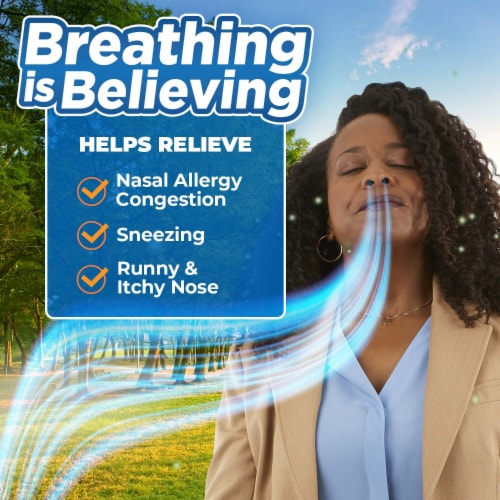 Nasacort Allergy 24-Hour Non-Drowsy Multi-Symptom Relief Nasal Spray Perspective: right