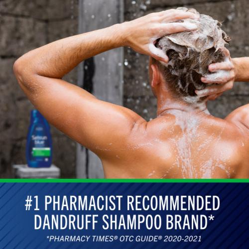 Selsun Blue® Maximum Strength Moisturizing with Aloe Dandruff Shampoo Perspective: right