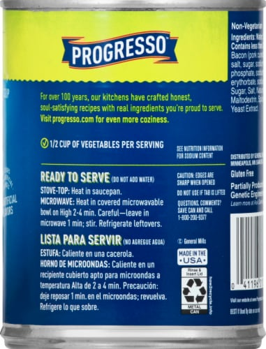 Progresso Vegetable Classics Green Split Pea Soup Perspective: right