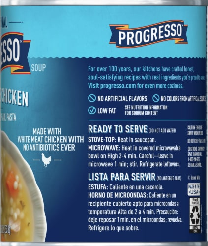 Progresso Traditional Homestyle Chicken Soup Perspective: right