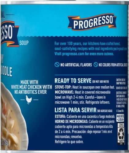Progresso Traditional Creamy Chicken Noodle Soup Perspective: right