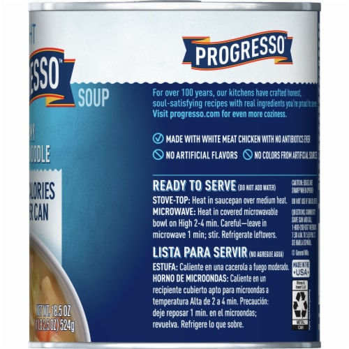 Progresso Light Creamy Chicken Noodle Soup Perspective: right