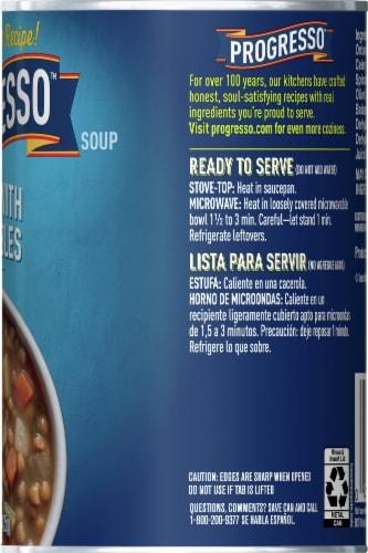 Progresso Lentil with Vegetables Soup Perspective: right